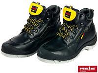 """Ботинки кожаные,стальной носок  Польша BR """"QAN"""" REIS"""