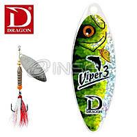 Блесна DRAGON-HRT VIPER de Luxe № 2 окунь