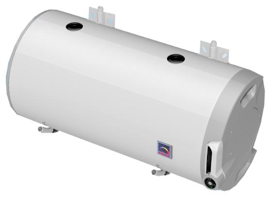 Горизонтальный бойлер Drazice OKCV 125 модель 2016 (125 литров, комбинированный)