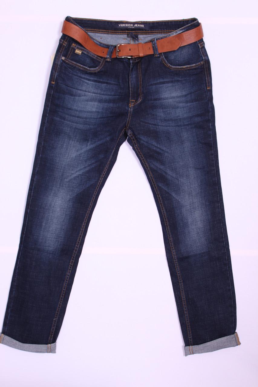 Стильные джинсы мужские Version (код 3064)