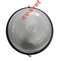 Светильник герметический круг 60W черный
