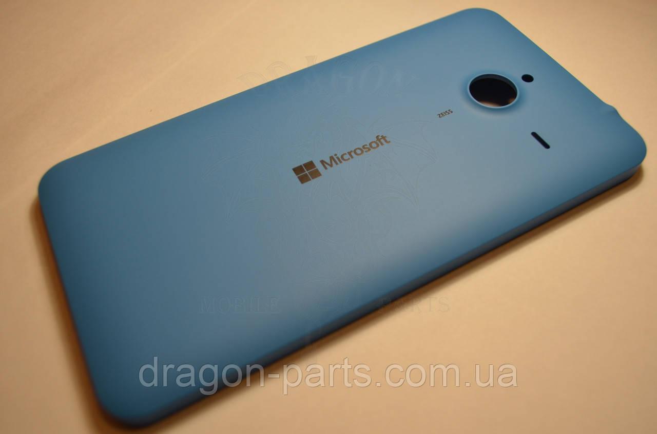 Задняя крышка  Microsoft Lumia 640 XL синяя оригинал , 02510P7
