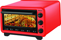 Электрическая печь SATURN ST-EC10702 красная