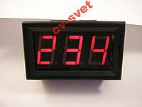 Цифровой Вольтметр переменного тока AC 60-500V красный