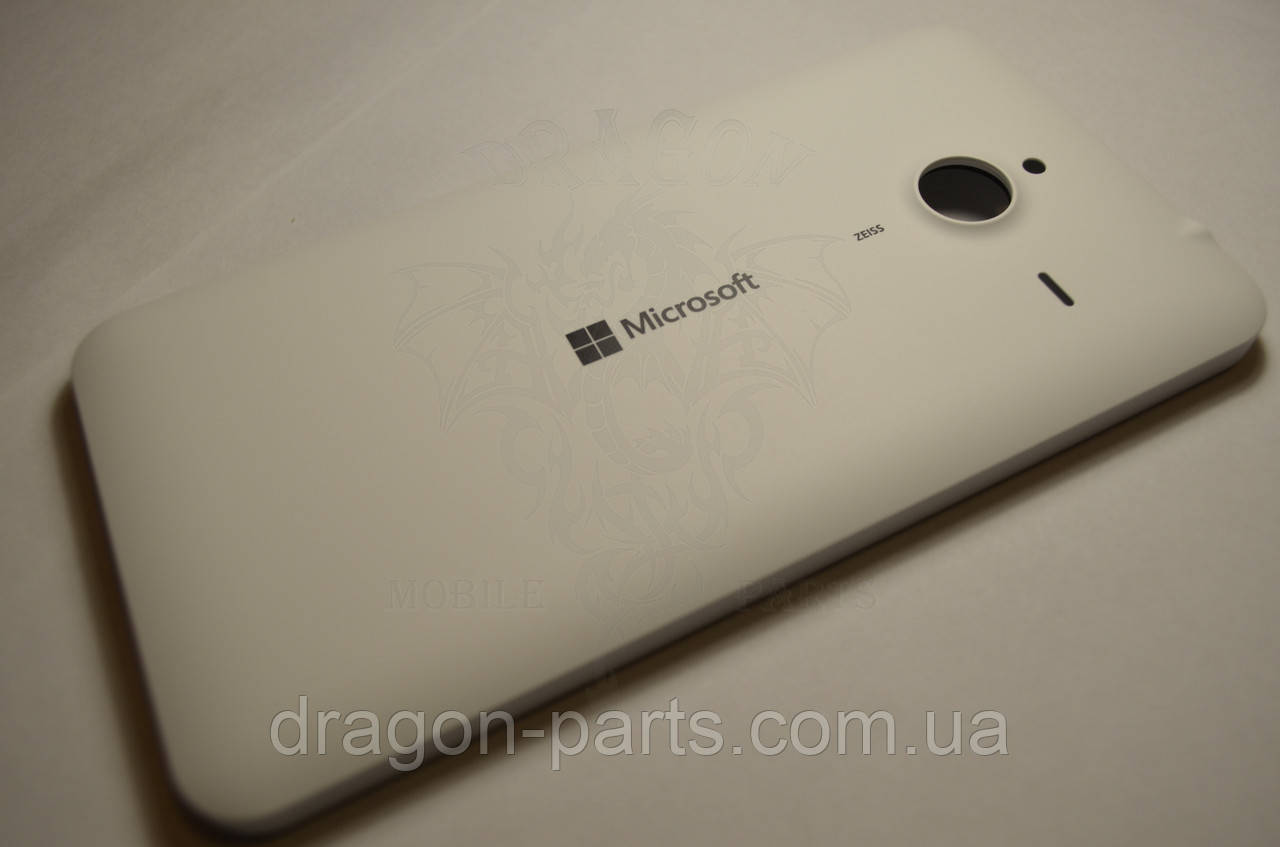 Задня кришка Microsoft Lumia 640 XL біла оригінал , 02510P8