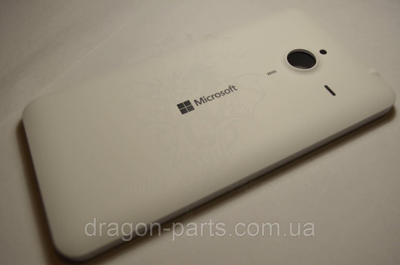 Задняя крышка  Microsoft Lumia 640 XL белая оригинал , 02510P8