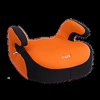 """Детское авт. кресло SIGER """"БУСТЕР"""" , 6-12 лет, 22-36 кг, группа 3 (оранжевый)"""