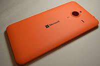 Задняя крышка  Microsoft Lumia 640 XL оранжевая оригинал , 02510P9