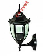 Фонарь садово-парковый металл PL5101 черный 60w