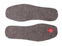 Стельки для обуви войлок (5мм)натурал.разм.39-48