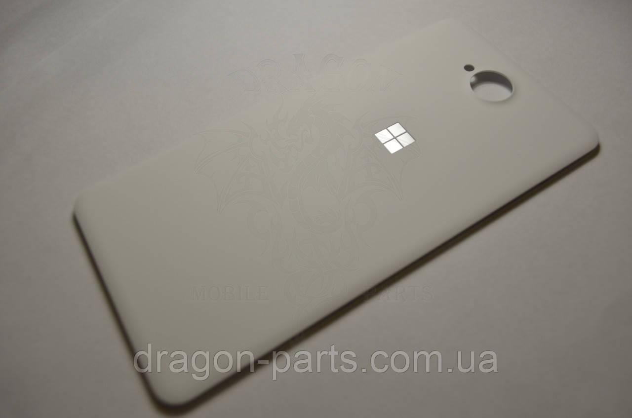 Задняя крышка  Microsoft Lumia 650 белая оригинал , 02511B1