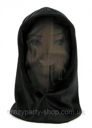 Капюшон-балаклава чёрный