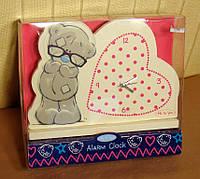 Будильник часы настольный Мишка Teddy Carte Blanch