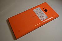 Задняя крышка  Nokia Lumia 730 оранжевая оригинал , 02507Z5