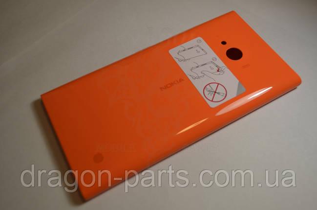Задняя крышка  Nokia Lumia 730 оранжевая оригинал , 02507Z5, фото 2