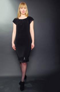 Платье  нарядное, коктейльное, полуприталенное , Пл 031 , вышитое пайеткой.