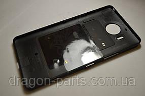 Задняя крышка  Microsoft Lumia 950 черная оригинал , 00814D9