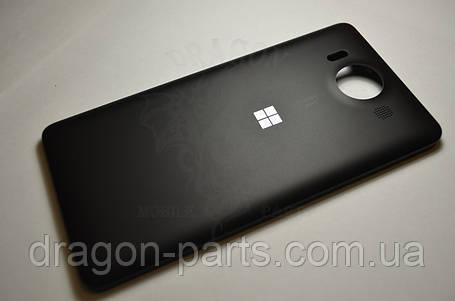 Задняя крышка  Microsoft Lumia 950 черная оригинал , 00814D9, фото 2