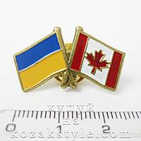 """Значок """"Україна-Канада"""", фото 1"""