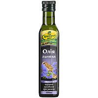 """Льняное масло холодного отжима ТМ """"Херсонські олії"""", 500 мл"""