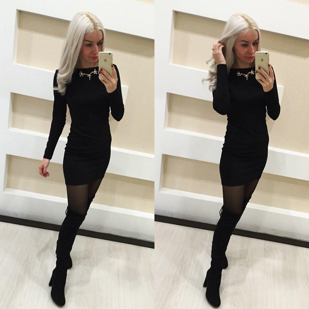 2f3c190be34 Чёрное мини платье с открытой спиной — купить недорого в Харькове в ...