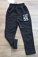 Утепленные спортивные брюки для мальчиков 1 год