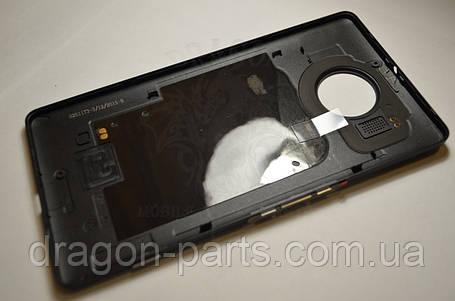 Задняя крышка  Microsoft Lumia 950 XL черная оригинал , 00813X3, фото 2