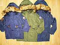 Куртки-парки зимние на мальчика  оптом, Glo-story, 92/98 рр