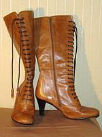 Сапоги женские кожаные демисезонные Clarks (разамер 40, UK7)