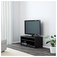 IKEA MOSJÖ Тумба под ТВ, черно-коричневый : 90144730, 901.447.30
