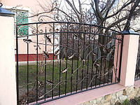 Кованый забор арт.10