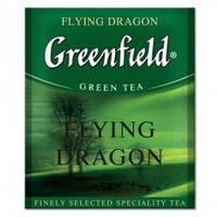 Чай Greenfield Flying Dragon (Флаинг Драгон), зеленый для HoReCa 100 пакетиков