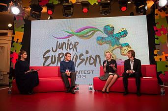Первый Национальный Канал и детское Евровидение 2