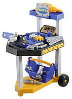 Тележка с инструментами, станком, дрелью, 26 аксес. (002455)