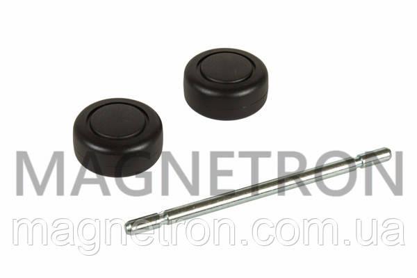 Набор колес (2шт) + ось для щетки пол/ковер к пылесосу Bosch 168949, фото 2