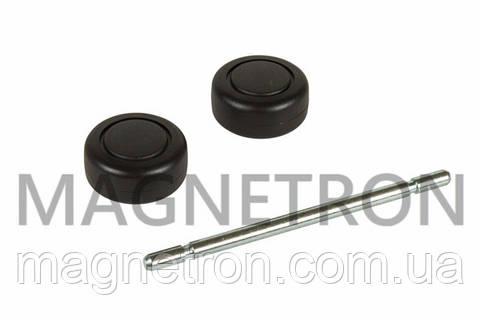 Набор колес (2шт) + ось для щетки пол/ковер к пылесосу Bosch 168949