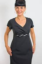 Платье женское делового стиля черное
