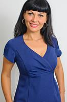 Платье женское делового стиля синее