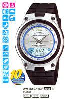 Casio AW-82-7A, рыбацкие часы