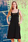 Сарафан жіночий чорний, фото 3