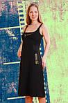 Сарафан жіночий чорний, фото 4