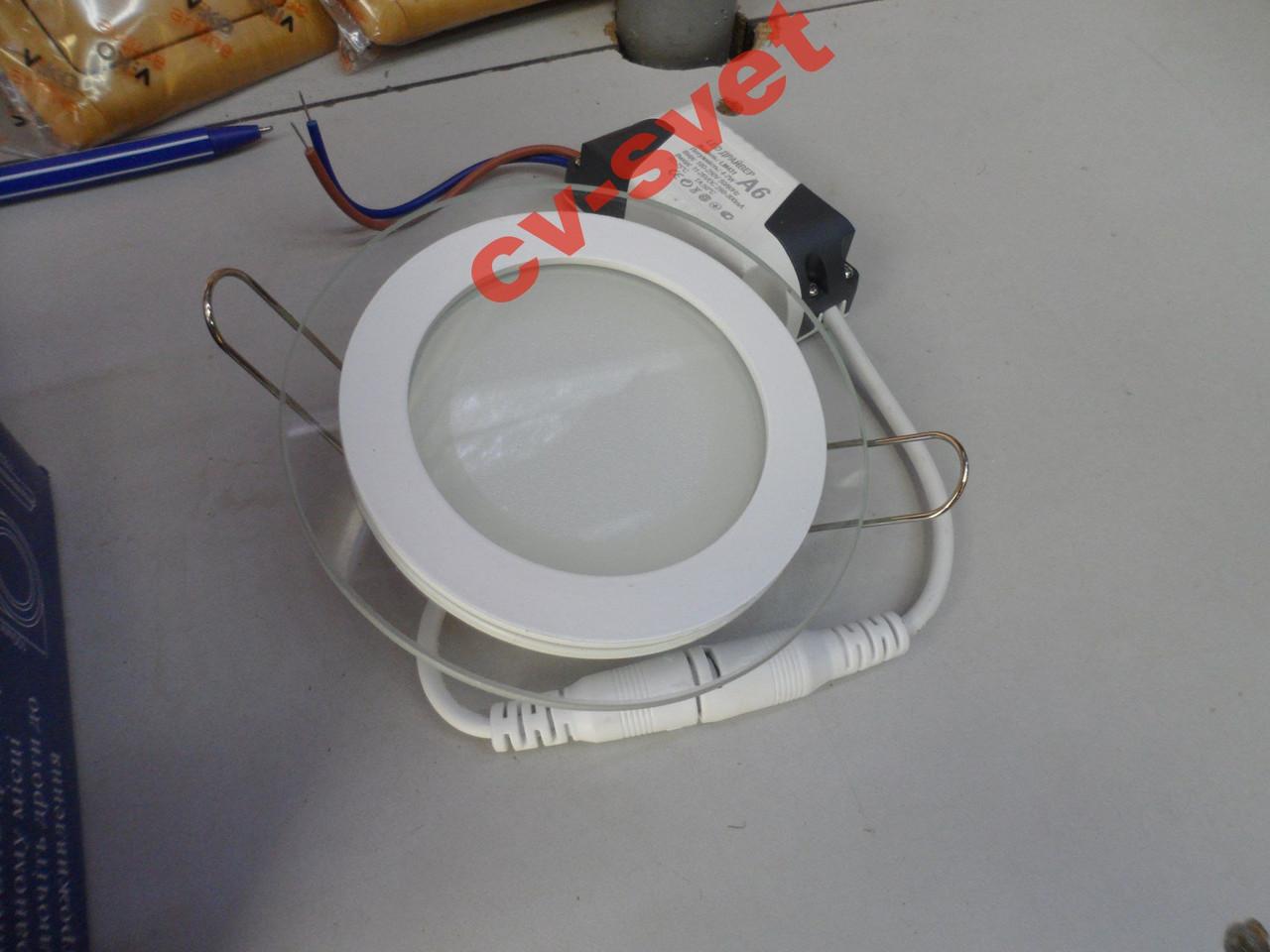 Светодиодная LED панель 6W 400LM LM431 4500K круг