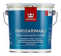 Краска для крыш TIKKURILA ПАНССАРИМААЛИ, 0,9 л, база С (6408070018835)