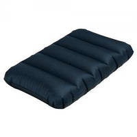 Подушка надувная 68671 черная 43*28*9см