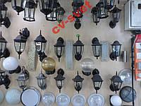 Фонарь садово-парковый металл PL6102 60w черный
