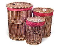 Набор корзин для белья, 45х56см., 45x36cм., 28x37см.