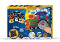 Подарочный набор Креативные часы Creative clock  Паровозик