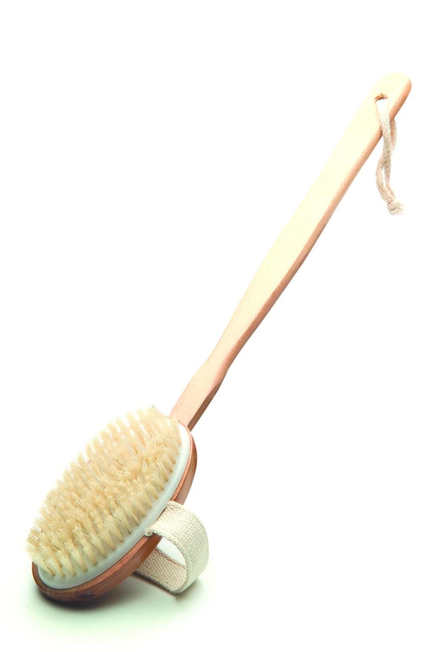 Щетка с деревян.ручкой для сауны (ТМ Bonfire)