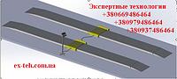 Автомобильные весы подкладные поосевого взвешивания 15т на ось (4500мм)
