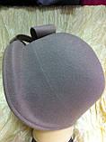 Фетровий капелюшок із складками і бантом, фото 6